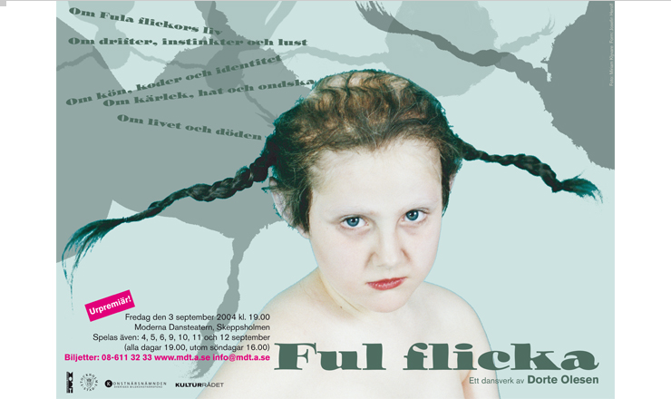 Dorte Olesen: Ful Flicka / Poster